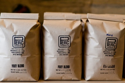 5-pound bags of PERC Coffee