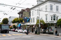 Intersection of Haight-Ashbury