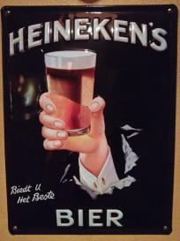 Heineken's Bier - Biedt u Het Beste