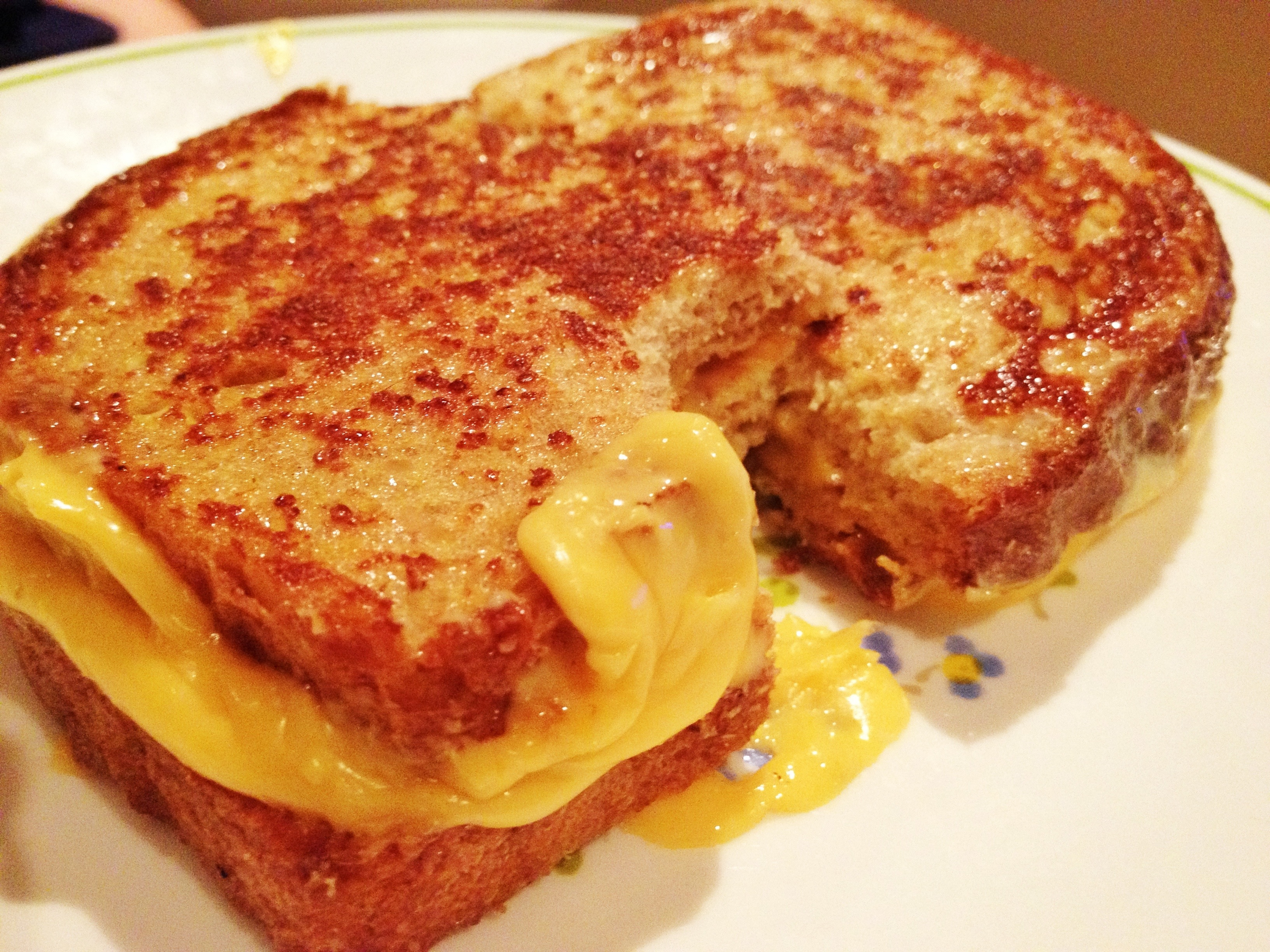 ... September 4, 2012 at 3264 × 2448 in French toast grilled cheese