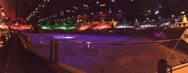 Panorama before the show