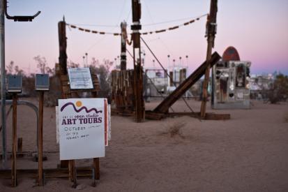 Noah Purifoy Outdoor Desert Art Museum